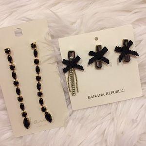 Banana republic, I am earrings